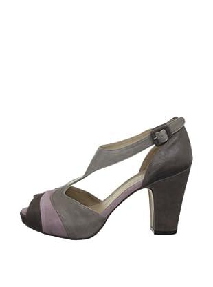 AUDLEY Zapatos Bustoso (Marrón / Rosa / Topo)