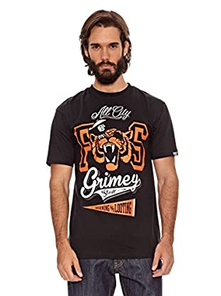 Grimey Wear Camiseta Tiger (Negro)
