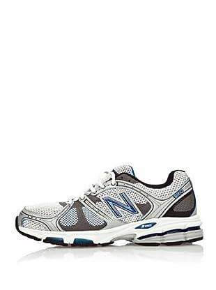 New Balance Zapatillas Running 940 (Blanco / Plata / Azul)