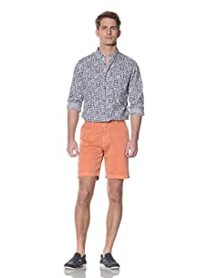 Nüco Men's Twill Shorts (Flamingo)