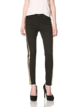 Rockstar Denim Women's Tuxedo Jean (Black)