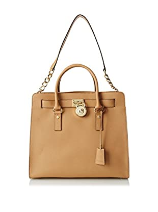 MICHAEL Michael Kors Women's Hamilton Large North/South Tote, Suntan
