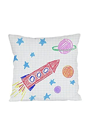 Little Nice Things Kissen Rocket Kids 45X45 Cm