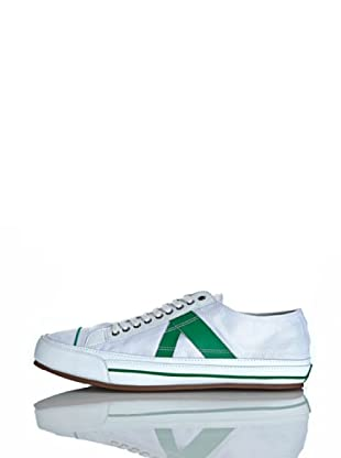 PF Flyers Sneakers Number 5 (Bianco/Verde)