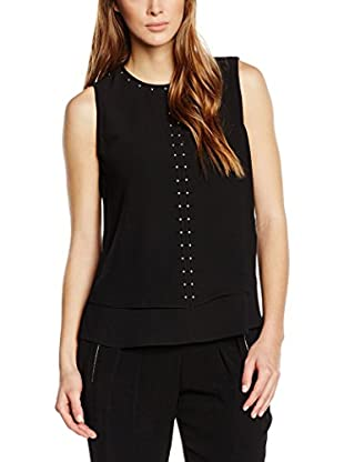 Michael Kors Blusa Dbl Layer Top