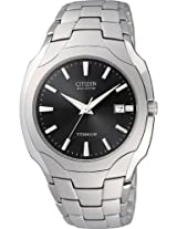 Citizen Eco Drive Titanium Mens Watch Bm6560 54H