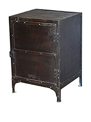 CDI Furniture International Industrial Night Table, Black