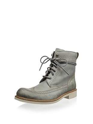 John Varvatos Men's Strummer Softy Wingtip Boot (Griffin)