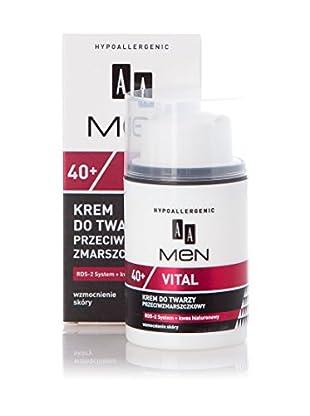 Oceanic Anti-Falten & Anti-Aging Creme Hypoallergenic Men Vital 40+ 50 ml, Preis/100 ml: 25.9 EUR
