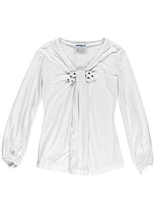Camiseta Manga Larga Nodo (Blanco)