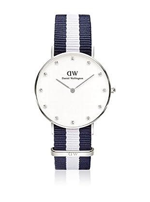 Daniel Wellington Reloj con movimiento cuarzo japonés Woman Classy Glawsgow blanco/gris 34 mm