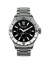 Nautica Analog Black Dial Men's Watch - A19569G