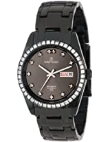 Sartego Men s SBGU13 Classic Analog Black Face Dial Swarovski Watch