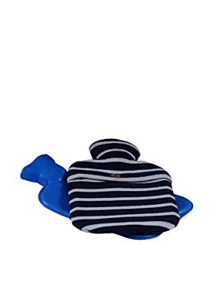 Darzzi Stripe Bottle Cover (Navy/Natural)