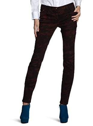 TOM TAILOR Denim Skinny Hose (Rot)