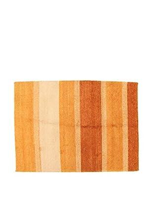 Design Community By Loomier Teppich Gabbeh orange/braun 200 x 140 cm