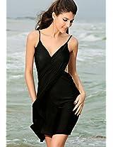Black Sarong Beachwear