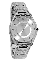 Swatch Silver Metal Analog Women Watch SFM126G