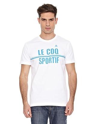 Le Coq Sportif Camiseta Sorg Tss (Blanco)