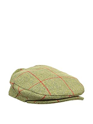 Hackett London Gorra H&H Tweed Flat Cap