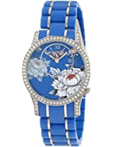 Ed Hardy Women's JA-BL Jasmine Blue Watch