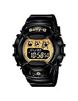 Casio Women's BG1006SA-1C Baby-G Shock Resistant Black and Yellow Multi-Function Watch