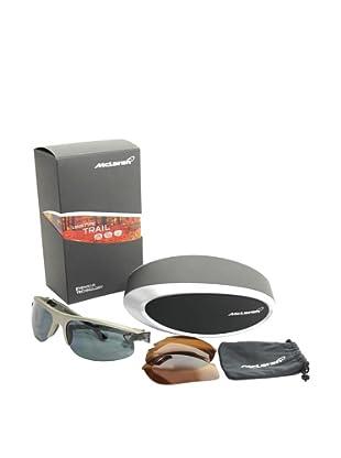 Mclaren Gafas de Sol MPS-004-CA-2171-TRAI Plata / Negro