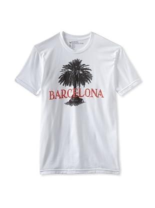 Kinetix Men's Barcelona Crew Tee Shirt (White)