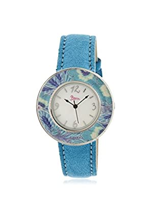 Boum Women's BOUBM2803 Bouquet Turquoise Blue Leather Watch