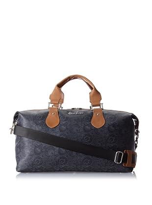 Robert Graham Men's Dunstable Overnight Bag (Grey/Black)