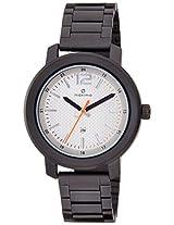 Maxima Analog Biege Dial Men's Watch - 35561CMGB