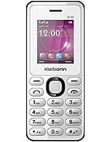 Karbonn K140 With Wireless FM (Black-White)