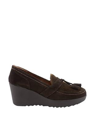 Liberitae Zapatos Borlas (Marrón)
