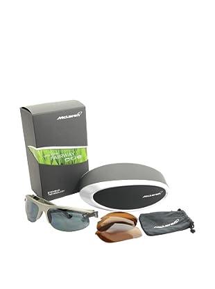 Mclaren Gafas de Sol MPS-004-CA-2171-FAIR Plata / Negro