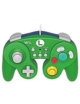 Hori Nintendo Wii/Wii U Luigi Battlepad/Gamepad (Green)