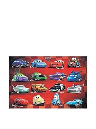 Artopweb Wandbild Disney Cars 60x90 cm Bunt