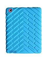 Apple iPad 2 iPad 3 iPad 4 Drop Tech Blue Gumdrop Cases Silicone Rugged Shock Absorbing Protective Dual Layer Cover Case
