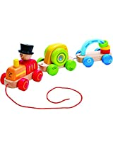 Hape Early Explorer -Triple Play Train Toy