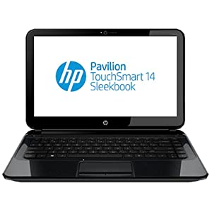 HP Pavilion TouchSmart 14-b171tu 14-inch Touchscreen Laptop (Sparkling Black)