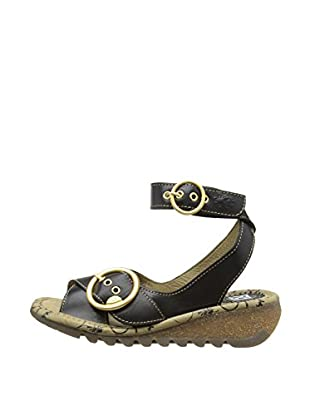 Fly London Sandalias Trio (Negro)