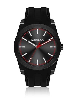 K&BROS Reloj 9560 (Negro)
