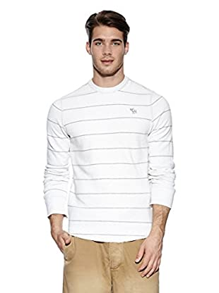 Abercrombie & Fitch Jersey Hassan (Blanco / Gris)