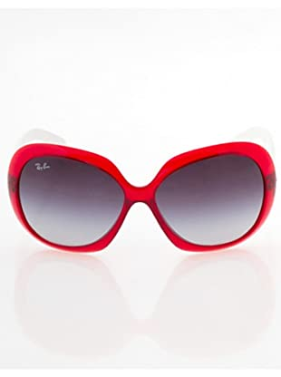 Ray Ban Sonnenbrille Jackie Ohh II rot/weiß/grau