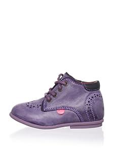 Kickers Kid's Scarlet Boot (Infant) (Purple)