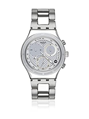 Swatch Quarzuhr Woman Unisex Oblique End Silver 40 mm