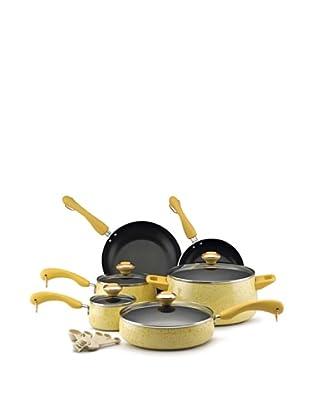 Paula Deen 15-Piece Porcelain Cookware Set (Butter)