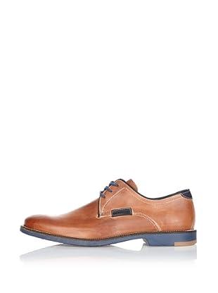 Fretz Men Zapatos Glades (Caramelo / Azul)