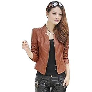 OnlyUrs Korean Fashion Style Leather Jacket For Women