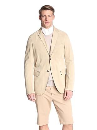 Jil Sander Men's Angela Leather Jacket (Camel)