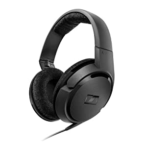 Sennheiser HD-419 Wired Over-Ear Headphones 504761 Black